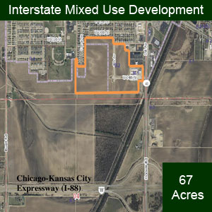 Interstate mixed development-Hallman